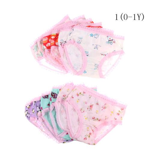 Fashion Cute Baby Girls Soft Cotton Underwear Panties Kids Underpants ClothJC