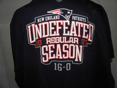 NFL NEW ENGLAND PATRIOTS 16-0 UNDEFEATED REGULAR SEASON t-shirt