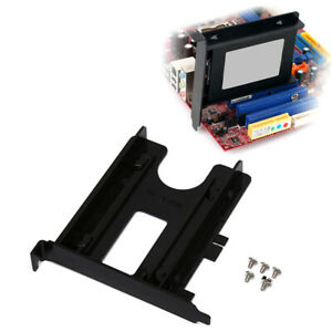 PCI-Slot-2-5inch-HDD-SSD-Rear-Panel-Mount-Bracket-Hard-Drive-Adapter-Tray-CMWUS