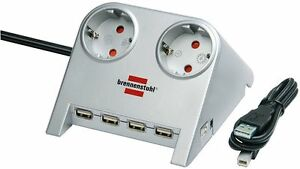 Desktop-Power-Plus-con-USB-2-0-HUB-marca-Brennenstuhl-art-1153545124