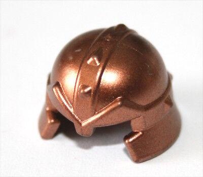 2x LEGO® Ritter-Helm geschlossen mit Sehschlitz 89520 NEU Perl Dunkelgrau
