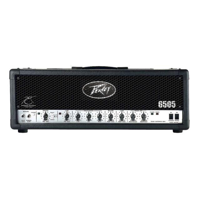 Peavey 6505 120-Watt High Gain Guitar Amplifier 3-Band EQ Amp Head + Footswitch
