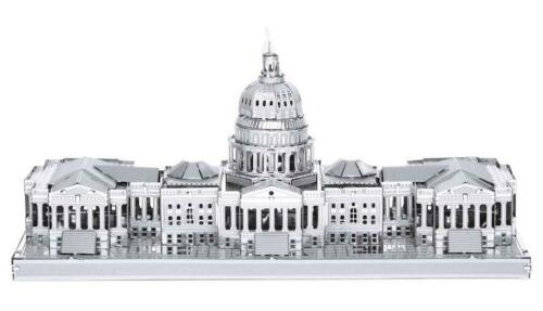 Capitol Building Washington 3D Puzzle Metall Modell Laser Cut Bausatz,NEU