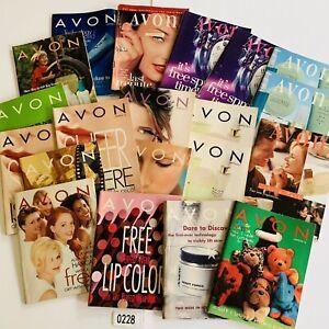 1997-Vintage-Avon-Catalog-Campaign-Books-Lot-of-20