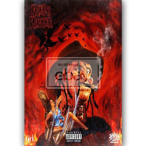 High Off Gun Powder Fredo Santana Feat Chief Keef /& Kodak Silk Poster Wall Decor