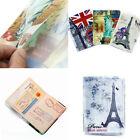 Hot Journey Travel Passport Holder Wallet Purse ID Card Organizer Case Cover