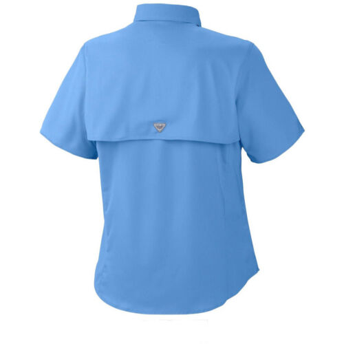 "New Womens Columbia PFG /""Tamiami/"" Omni-Shade Wick Vented Fishing Shirt"