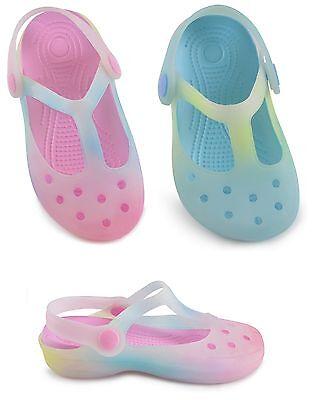 Chicas/Niños/niños pequeños multicolores de Jalea Suave Zapatos/Sandalias