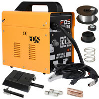 Goplus Mig 130 Welder Flux Core Wire Automatic Feed Welding Machine W/ Free Mask on sale