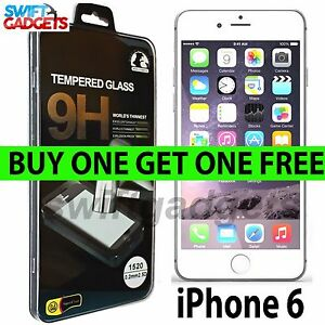 Per-Apple-iPhone-6s-e-6-100-GENUINE-VETRO-TEMPERATO-PELLICOLA-PROTEGGI-SCHERMO