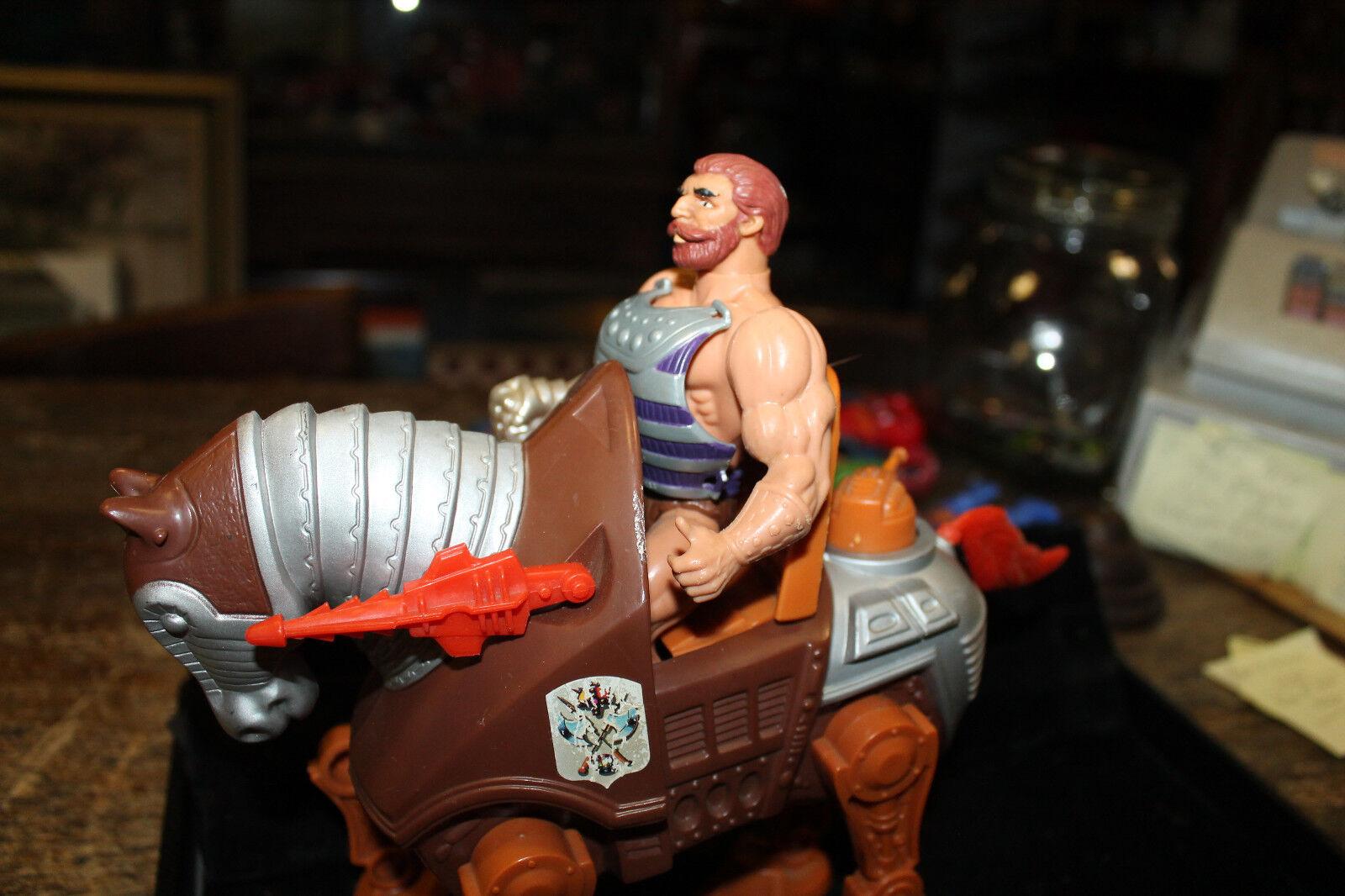 He-Man MOTU Fisto and STRIDOR 1984