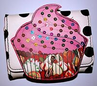 Iron Fist Ladies Sweet For My Sweet Cupcake Wallet Purse summer