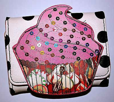 Iron Fist Ladies Sweet For My Sweet Cupcake Wallet Purse
