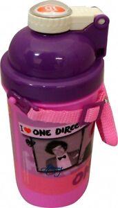 One-Direction-039-I-Love-1d-039-Rose-Pop-Up-Cantine-Bouteille-D-039-eau-Neuf-Cadeau