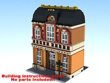 Wax Museum LEGO 10182 10185 10190 10197 10211 10218 Building Instruction ONLY!