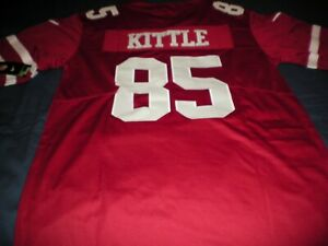 reputable site 1ab44 2b11f Details about New George Kittle San Francisco 49ers Red Jersey NWT