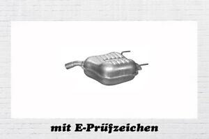 Auspuffanlage Opel Vectra C 2.2 16V 108 KW Auspuff Endtopf Mitteltopf Schelle