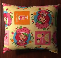 Adorable Handmade Strawberry Shortcake Accent Pillow