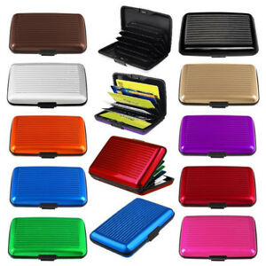 RFID-Credit-Card-Scan-Protected-Aluminium-Security-Wallet-Bank-Holder-Hard-Case