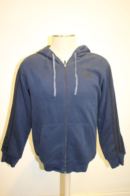 adidas originals trefoil fleece f/z hoodie