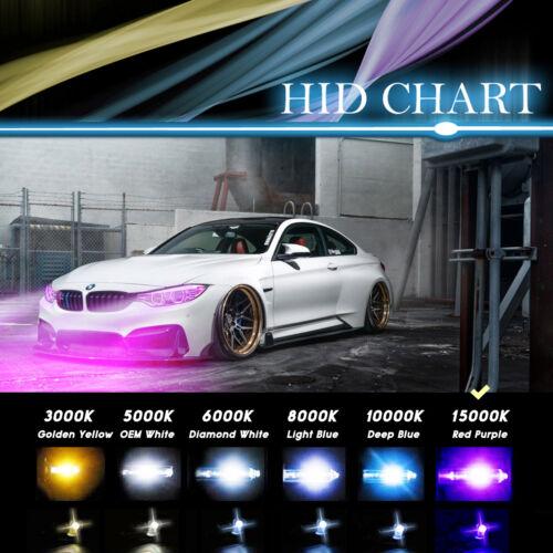 Promax Xenon Headlight Fog Light HID Kit 30000LM 55W 9005 9006 5202 9012 D2S
