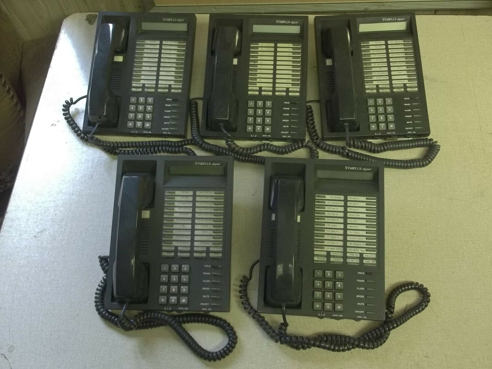 Starplus EIS85300, Lot of 5 Business Office Digital Phones FREE SHIPPING