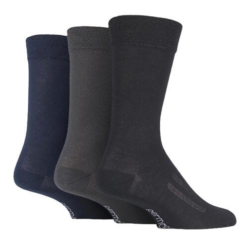 PERMA cool 3 paires Summer refroidissement respirant Chaussettes pour temps chaud