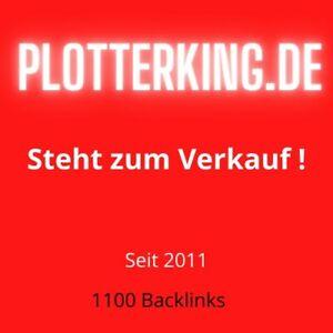 plotterking-de-Domain-steht-zum-Verkauf-seit-2011-Schneideplotter-Gratis-TOP