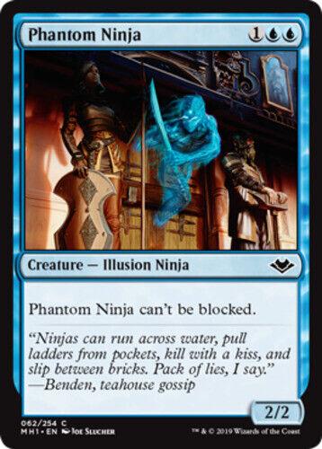 English x4 Phantom Ninja MTG Modern Horizons C M//NM