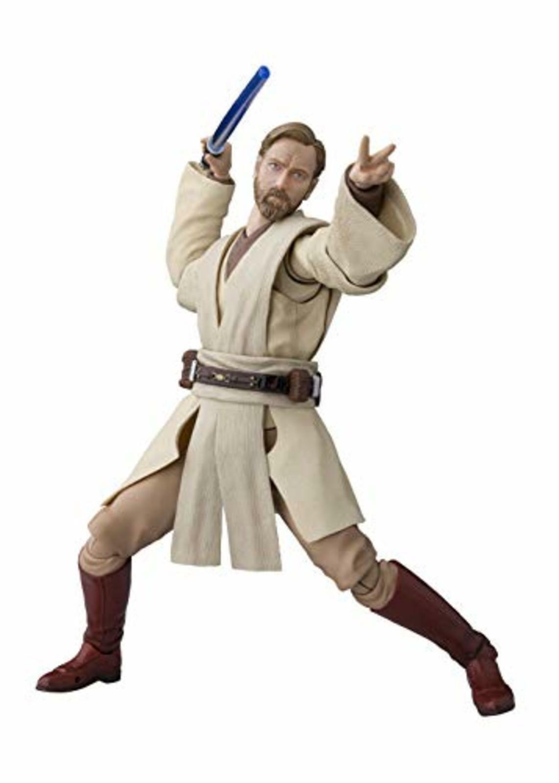 Sh Figurarts Star Wars Obi Wan Kenobi (Star Wars  Revenge Of The Sith) Figurine