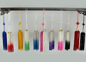 Chinese-Kung-Fu-Tai-Chi-Wushu-martial-art-Show-Exercise-Sword-tassels-12color