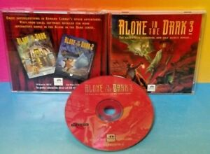 Alone in the Dark 3 - PC Game Tested - Mint Disc w/ Manual Tested  Rare