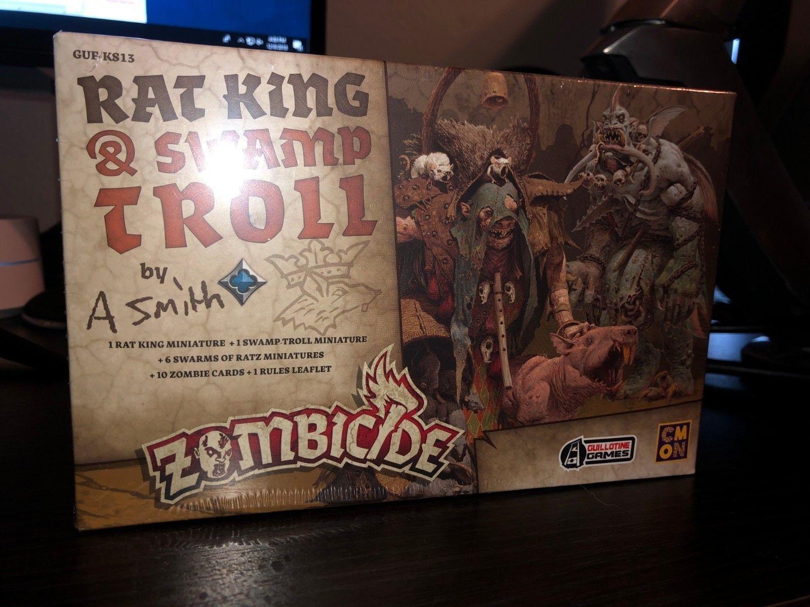 Zombicide verde Horde Exclusive - Rat King & Swamp Troll