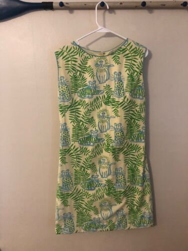 VINTAGE YELLOW LION DRESS by THE VESTED GENTRESS S