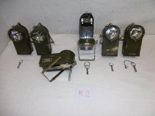 hl2 1x mano lámpara ceag aceptar 4k 2,4v 6,5ah Lámpara Linterna Antorcha ex ejército alemán