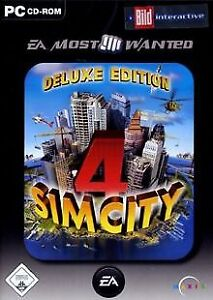 Sim City 4 - Deluxe Edition (EA Most Wanted) von Electro...   Game   Zustand gut