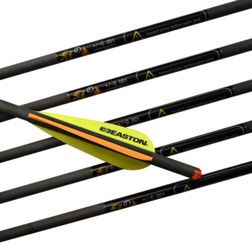 """Details about  /20/"""" Crossbow Bolts Carbon Arrows Easton Vanes Archery Bow Powerful Hunting 6 PCS"""