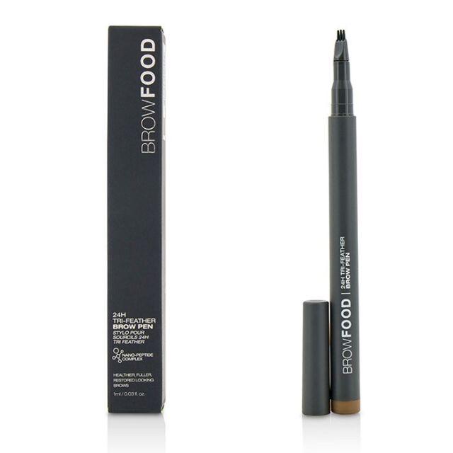 LashFood BrowFood 24H Tri Feather Brow Pen - Brunette 1ml Make Up & Cosmetics