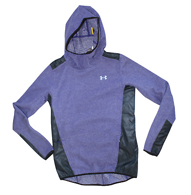 Blue New Small Under Armour Women/'s UA Breathelux Full Zip Hoodie