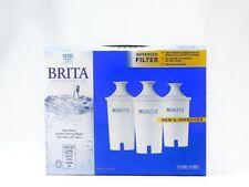 Brita Water Filter Advanced Jug Pitcher Replacement Cartridge Retail Box 3 Count