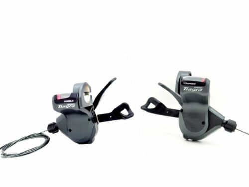 Shimano Tiagra SL-4700 Flat Bar 2x10 Spd Shifter Lever Set Left /& Right