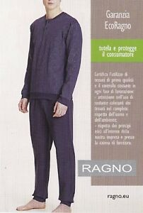 Winter-Pajamas-Male-Warm-Cotton-100-Long-Outline-ragno-Classic-N25021