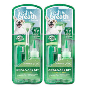 TropiClean-Fresh-Breath-Dog-Oral-Care-Kit-Remove-Tooth-Plaque-amp-Attack-Tartar