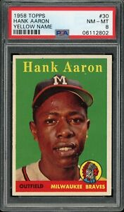 Hank-Aaron-1958-Topps-Braves-Card-30-PSA-8-Yellow-Letter