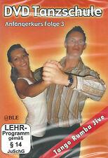 DVD + Tanzschule + Anfängerkurs + Folge 3 + Tanzen + Tango + Rumba + Jive +