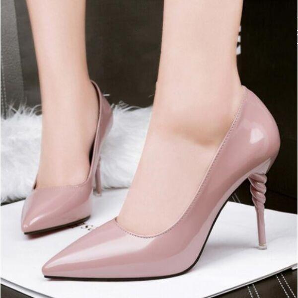 Zapatos de salón mujer mujer mujer alto 9 cm plataforma tacón de aguja rodado para arriba  nuevo listado