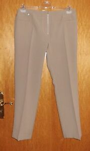 Damen-Hose-beige-Gr-46