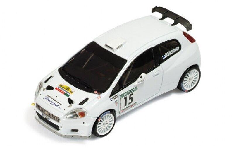 Disfruta de un 50% de descuento. 1 43 Fiat Grande Punto Abarth Abarth Abarth S2000 Rally della Marca Italia K. Raikkonen  bajo precio