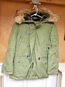 Military Surplus Cold Weather Parka Small. | eBay