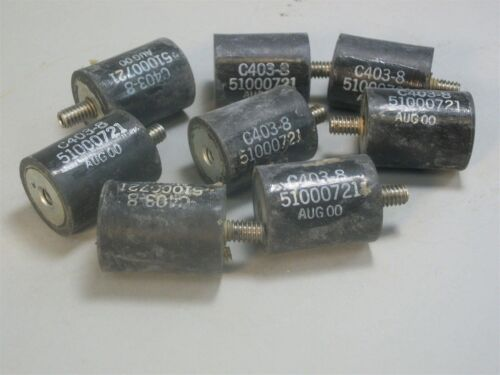 Rubber Mount Vibration C403-8 Isolator Standoffs New Lot Of 8 Pieces